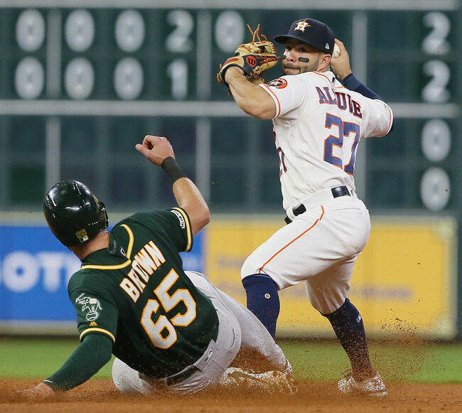 A's Beat Astros 5-3