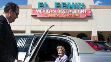 Leigh Ann and Jeremy - 99 year old's Final Wish: a Chauffeured Limo Ride to El Fenix With Friends