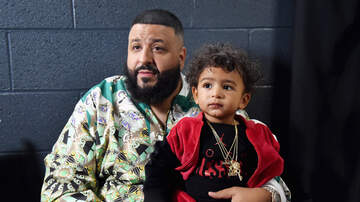 Ashlee - Dj Khaled & Son Asahd Excited Over New Baby Brother On The Way