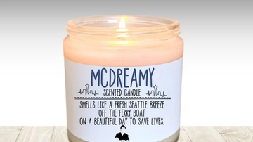 Alex - An Etsy Shop Is Selling A Grey's Anatomy McDreamy Candle