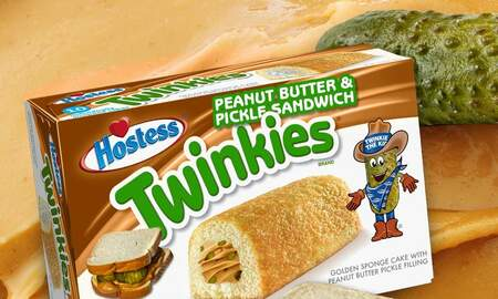 Music News - Hostess Hints 'Peanut Butter And Pickle Sandwich' Twinkies Are Coming Soon