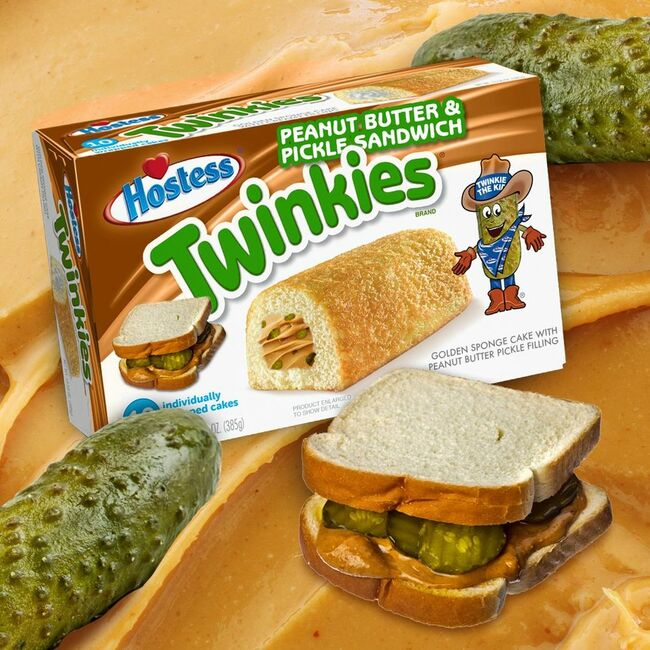 Hostess Hints 'Peanut Butter And Pickle Sandwich' Twinkies Are Coming Soon