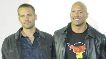 Trending - The Rock Pens A Heartbreaking Note About Paul Walker On His Birthday