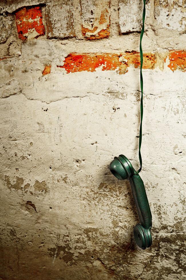 Retro Phone - Vintage Telephone Handset Receiver