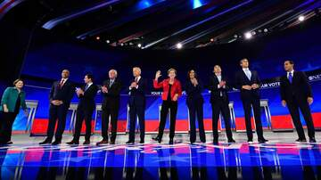 Politics - Democrats Hold Third Debate of 2020 Presidential Primary in Houston