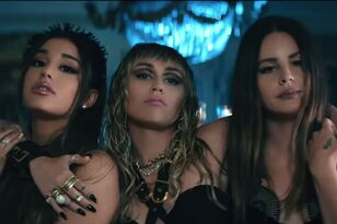 Watch Ariana Grande, Miley Cyrus & Lana Del Rey's Fierce New Music Video