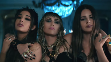 Headlines - Watch Ariana Grande, Miley Cyrus & Lana Del Rey's Fierce New Music Video