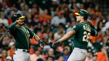 None - A's Beat Verlander For Series Win In Houston