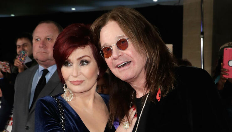 "Sharon Osbourne Says Ozzy Is Real Life ""Iron Man"" After Brutal Year 