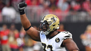 Louisiana Sports - Saints' Gashed Defensive Front Happy To Have Onyemata Back