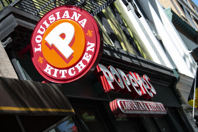 Popeyes Gives BYOB A Creative Spin