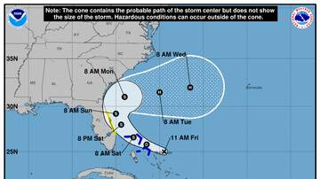 Operation Storm Watch - Parts of Florida's East Coast Under Tropical Storm 'Humberto' Watch