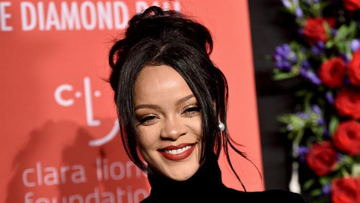 Rihanna Sparks Pregnancy Rumors At Diamond Ball | iHeartRadio