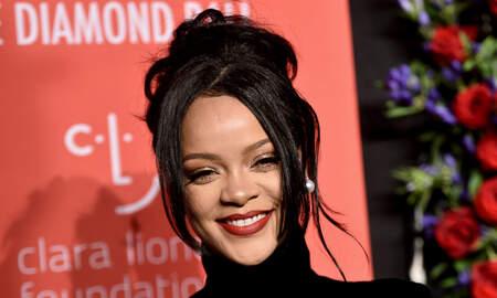 Trending - Rihanna Sparks Pregnancy Rumors At Diamond Ball