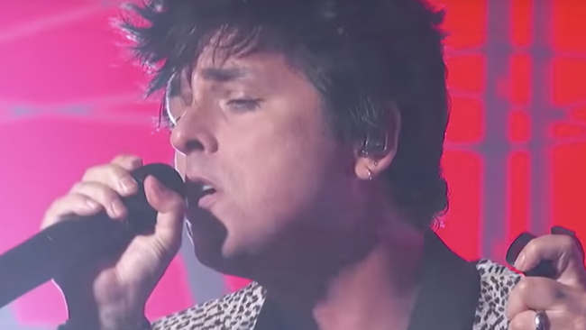 Green Day Give 'Father Of All...' Television Debut On 'Kimmel': Watch