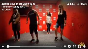 Kev's Move Of The Day - Zumba Move of the Day 9-13-19