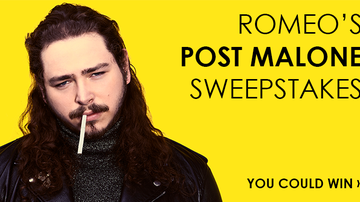 Contest Rules - Romeo's Post Malone Sweepstakes Rules