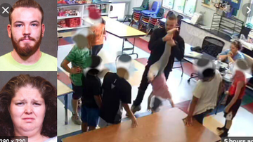 Qui West - 2 Arrested After Video Shows Girl, 5, Dangled Upside Down By Teacher!