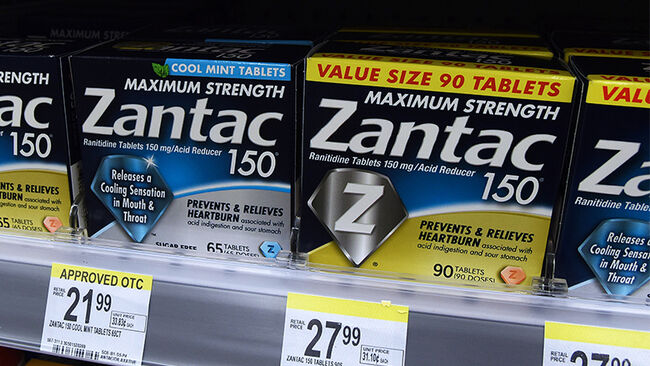 In this photo illustration the Zantac tablets, The U.S. Food