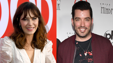 Entertainment News - Zooey Deschandel Dating Jonathan Scott 1 Week After Split From Her Husband