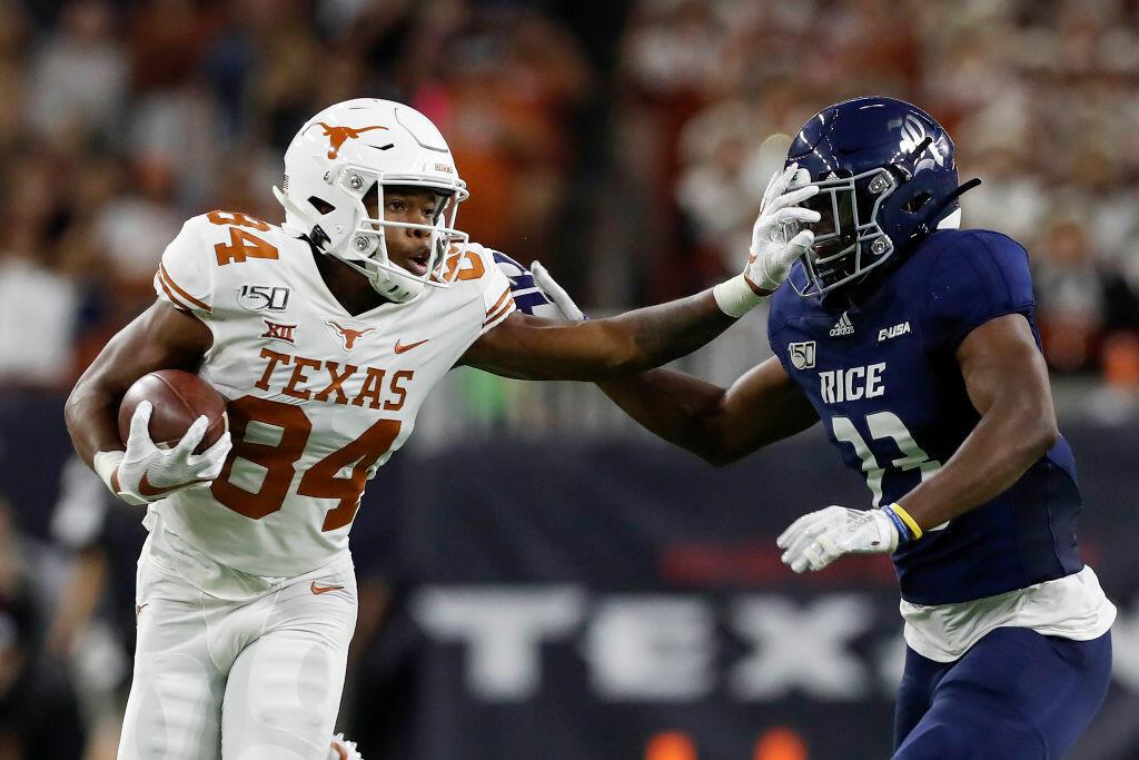 Texas slams Rice 48-13
