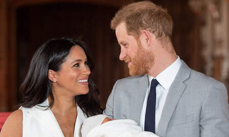 Entertainment News - Meghan Markle Celebrates 'Best Husband' Prince Harry On His 35th Birthday