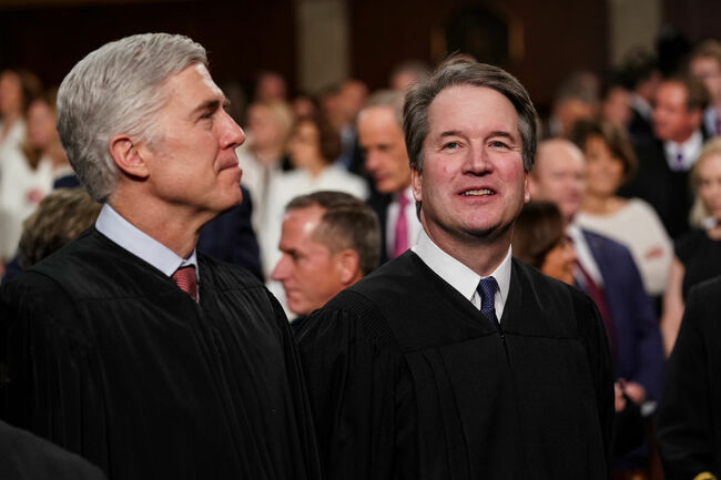 Kavanaugh and Gorsuch
