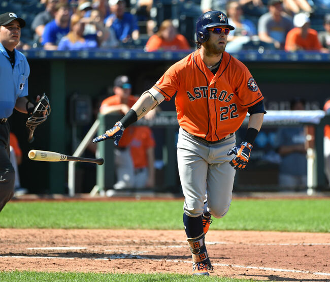 Astros Rout Royals To Sweep Series