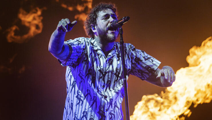 Post Malone Earns Second No. 1 Album With 'Hollywood's Bleeding' | iHeartRadio