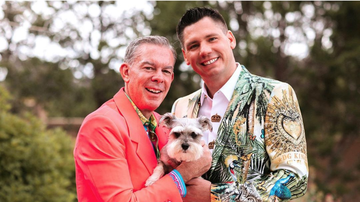 Elvis Duran - A Look Inside Elvis Duran's Wedding In Santa Fe