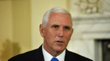 Politics - Mike Pence Says Triple Crown Winner American Pharoah Bit Him