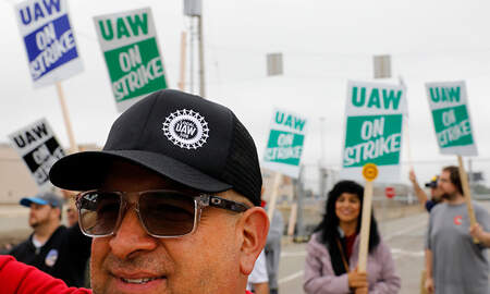 National News - Nearly 46,000 General Motors Workers Go On Strike