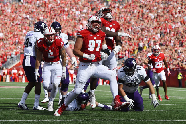 Wisconsin-Northwestern football to kick off at 11 a.m. on September 28