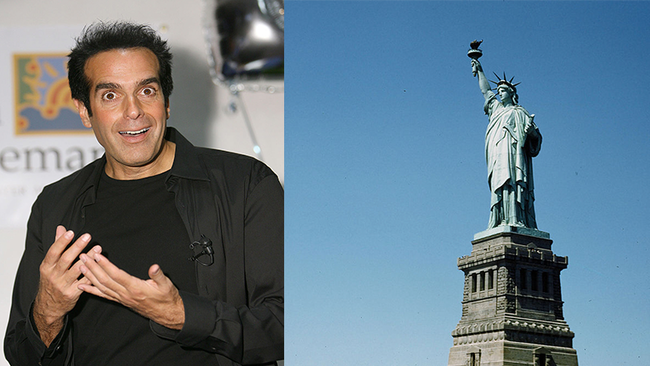Here's How David Copperfield Made The Statue Of Liberty Disappear