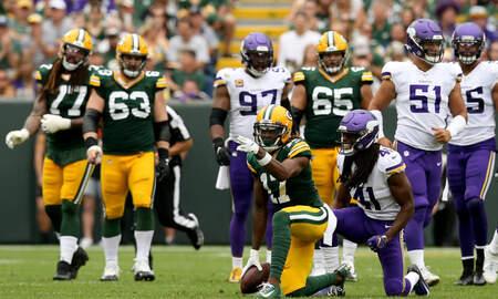 Wisconsin Badgers - CTV Recap: Fast start helps Packers take down Vikings on Sunday