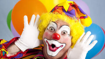 The Rick Lewis Show - Clown Scares Meteorologist Live On Air