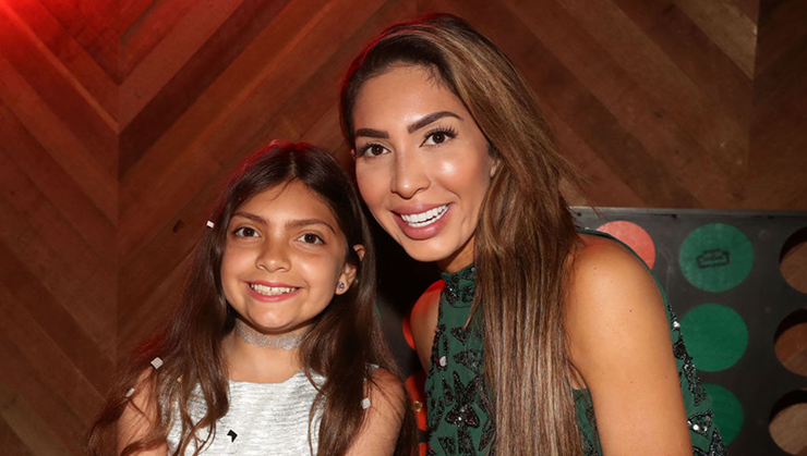 Farrah Abraham Mom-Shamed Over Controversial Pic Of 10-Year-Old Daughter | iHeartRadio