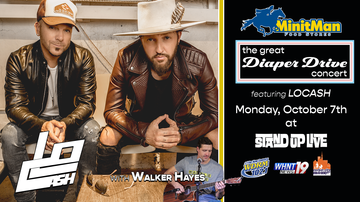None - The Great Diaper Drive Concert featuring LOCASH | October 7th