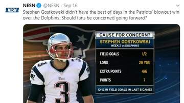 Paul and Al - Should Pats Fans Be Concerned About Stephen Gostkowski?