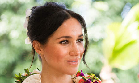 Entertainment News - Meghan Markle Had Lessons On How To Drink Tea Before Meeting The Queen