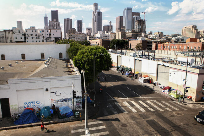 Los Angeles Seeks To Increase Restrictions On Homeless Sleeping On Sidewalks