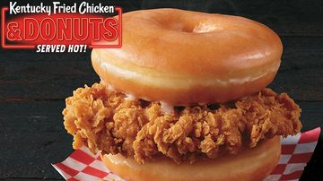 Entertainment News - A Donut And Fried Chicken Sandwich Is Being Tested Out AT KFC