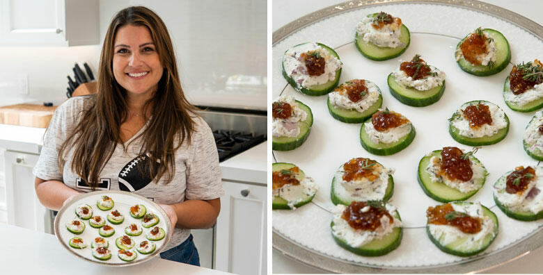 Sisanie Shows You the Perfect Snack to Make for Football Season!