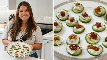 Ryan Seacrest - Sisanie Shows You the Perfect Snack to Make for Football Season!