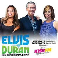 Elvis Duran and the 101-3 KISS-FM Morning Show