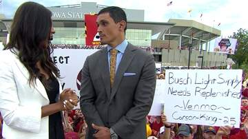 The Gunner Page - Kid's 'I Need Beer Money' Sign On College Game Day Raised Thousands $$$