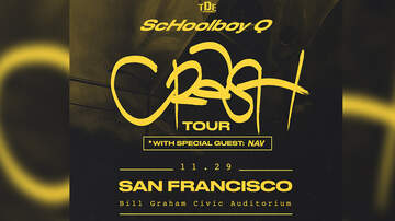 None - ScHoolboy Q with NAV at the Bill Graham Civic Auditorium!