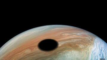 Coast to Coast AM with George Noory - NASA Photographs Eclipse on Jupiter