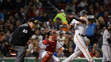 Sports - Mike Yastrzemski Hits Home Run At Fenway Park
