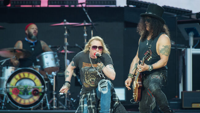 Guns n'Roses Performs At Stade De France